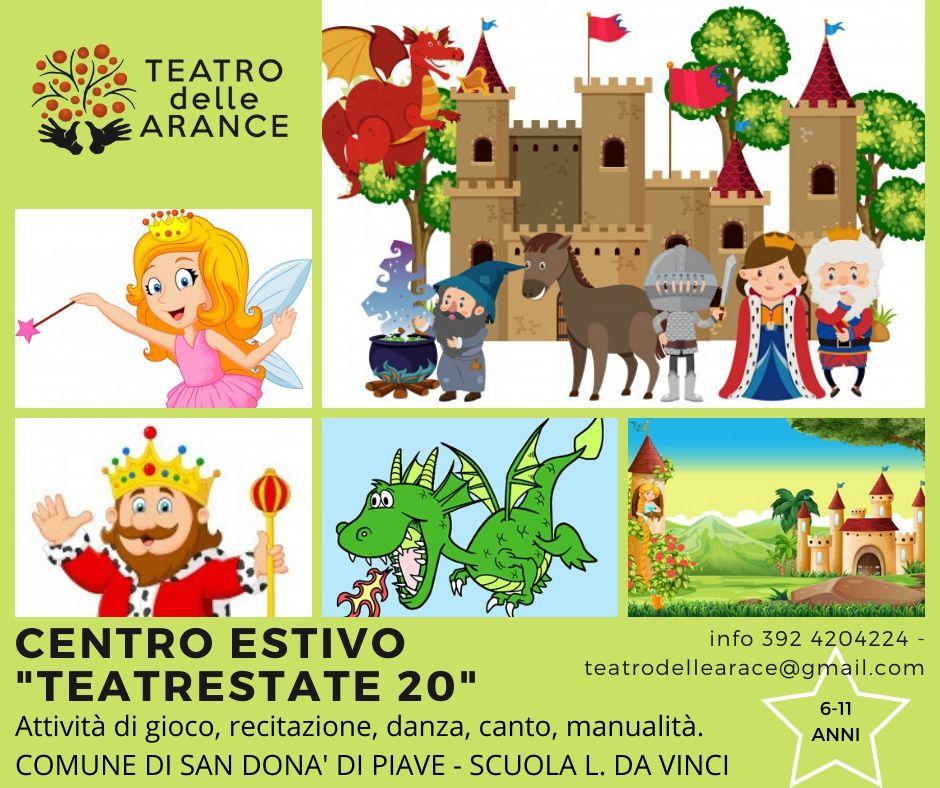 "Centro Estivo ""Teatrestate 2020"""